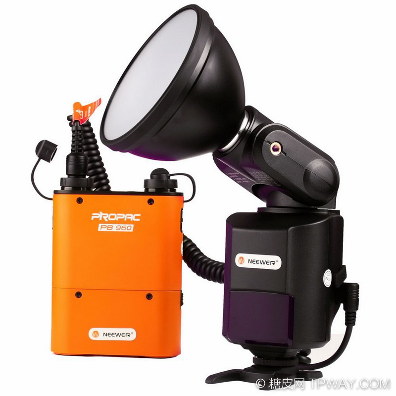 Godox-Witstro-Ad-360-Portable-Flash-Light-Kit-Pb960-Battery-Pack-Orange