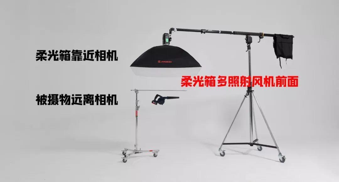 双闪灯拍摄吹风机 摄影课堂 布光课程 闪灯教程 014
