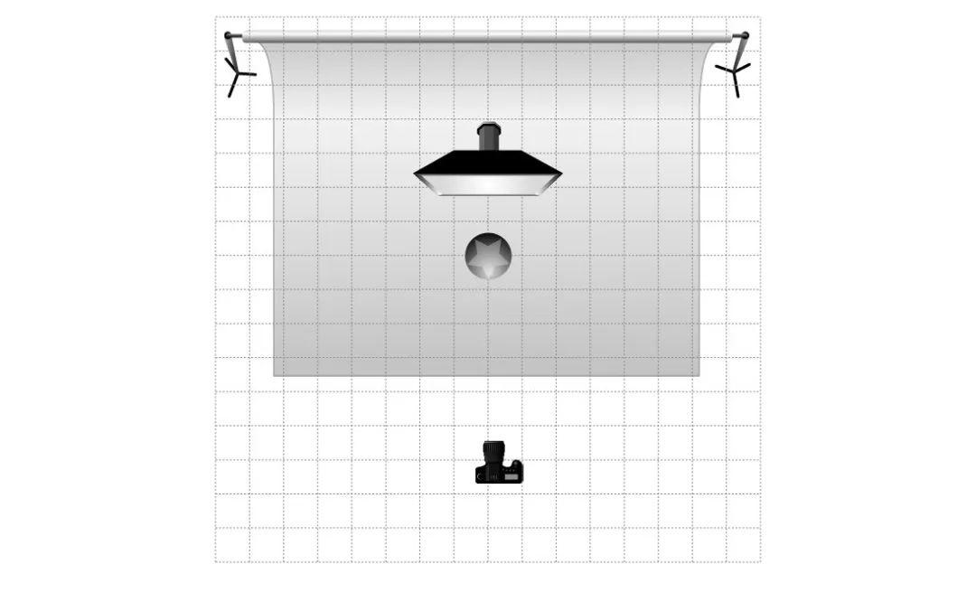 单灯水杯 静物摄影 布光教程 商业布光 026