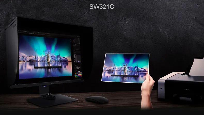 2W块钱的显示器开箱!明基SW321C、佳能PRO-10专业打印机、德塔打印校色套装、爱色丽校色仪